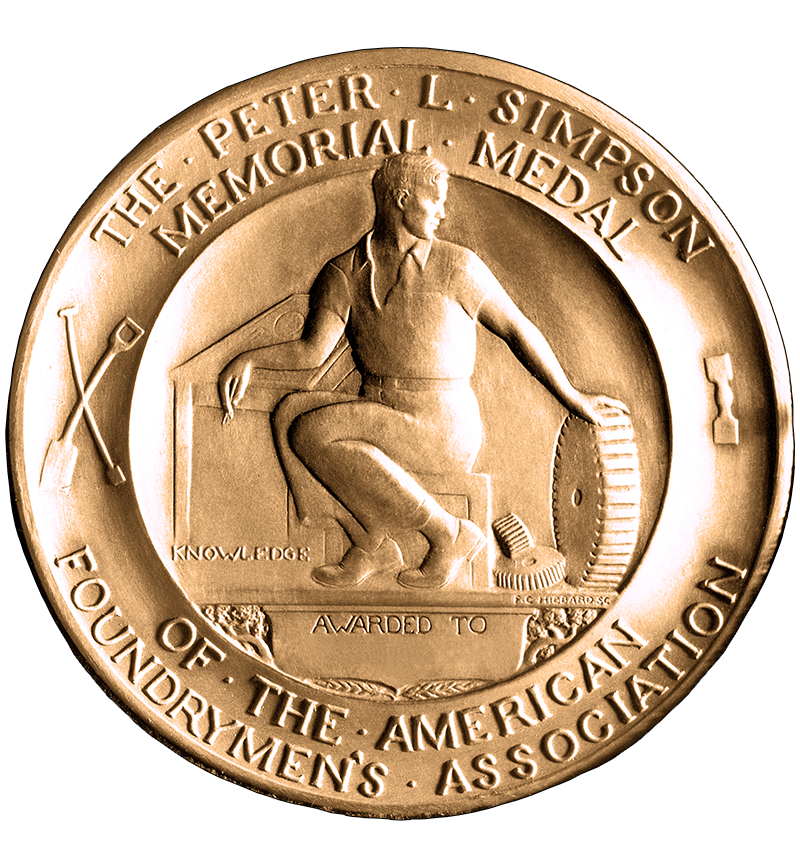 Peter L Simpson_Gold Medal